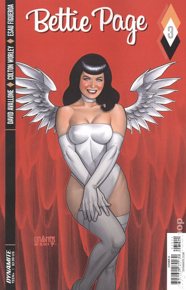 BETTIE PAGE #7A Cover 2018