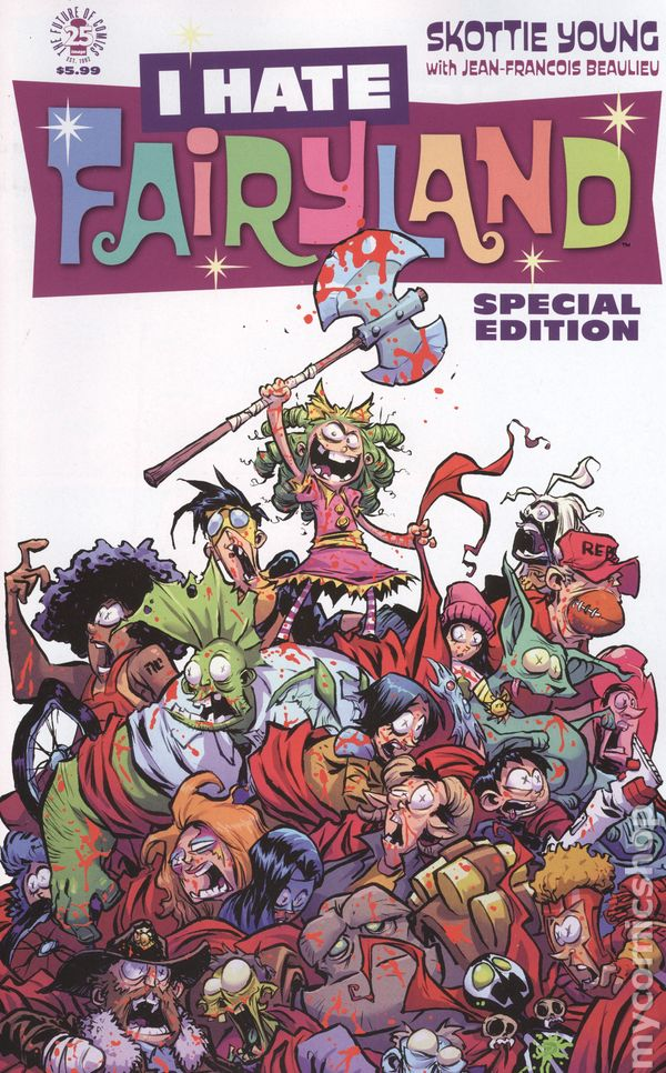 I Hate Fairyland Special Edition 2017 Image Comic Books