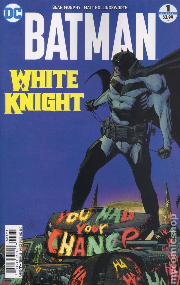 batman white knight recensione