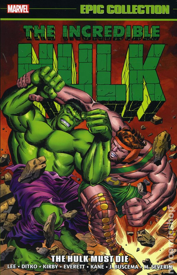 Incredible Hulk The Must Die TPB 2017 Marvel Epic Collection 1 1ST