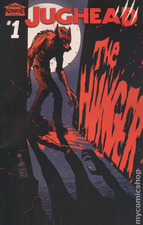 Jughead The Hunger Ongoing #3A Gorham Variant FN//VF 7.0 2018 Stock Image