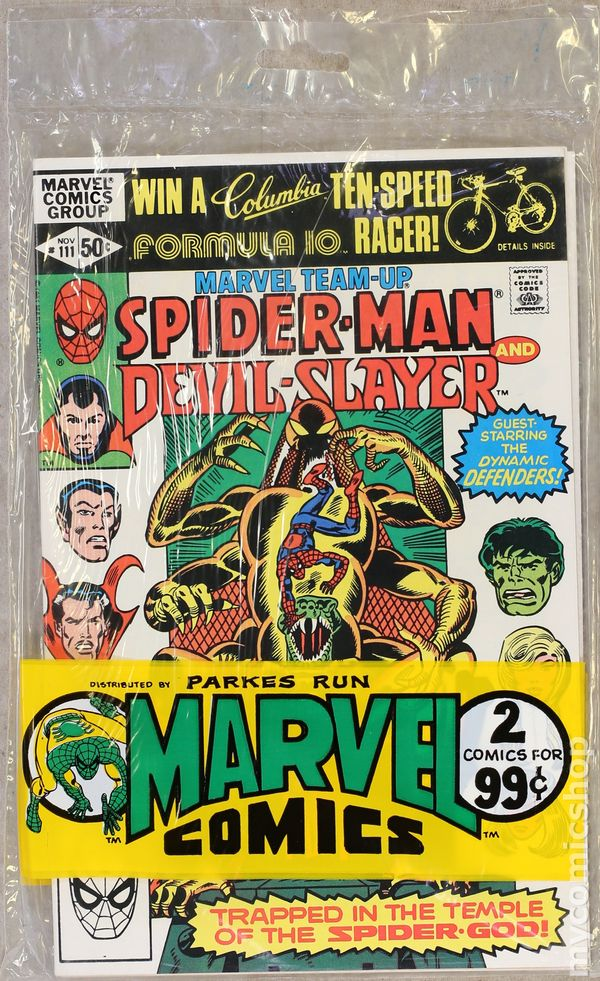 Marvel Multi-Mags (Comics from Marvel Books/Comic Pac/Marvel Comics  Multi-Pack) 1984(184) FN+ 6 5