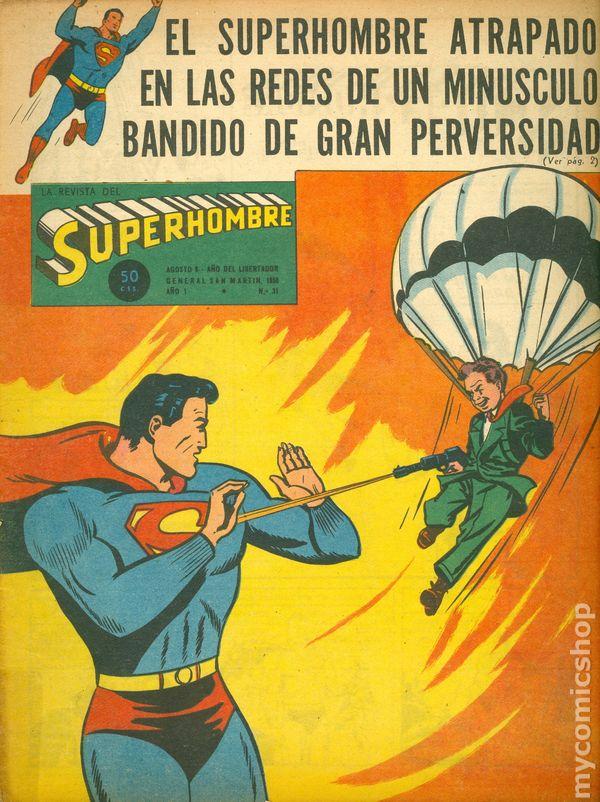Superman 1950 Comic Superman (1950 Superho...