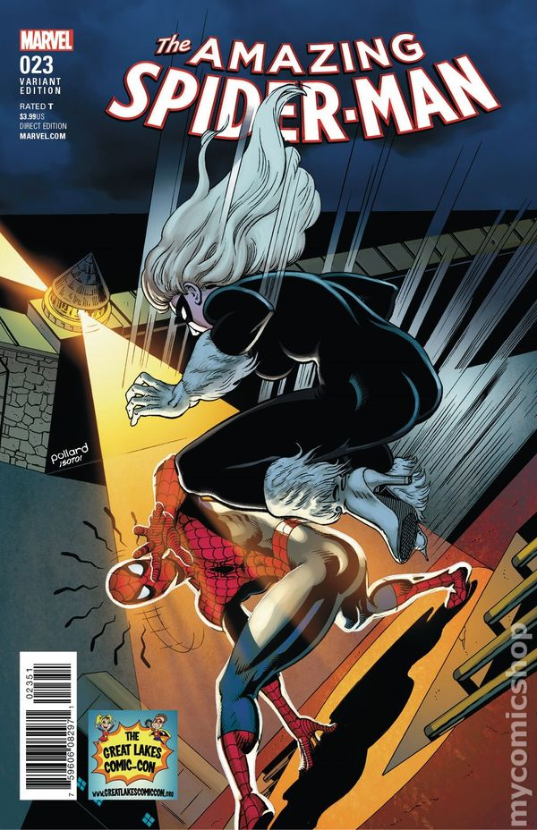 AMAZING SPIDERMAN #23 LEGACY #824 1st PRINT    MARVEL COMICS