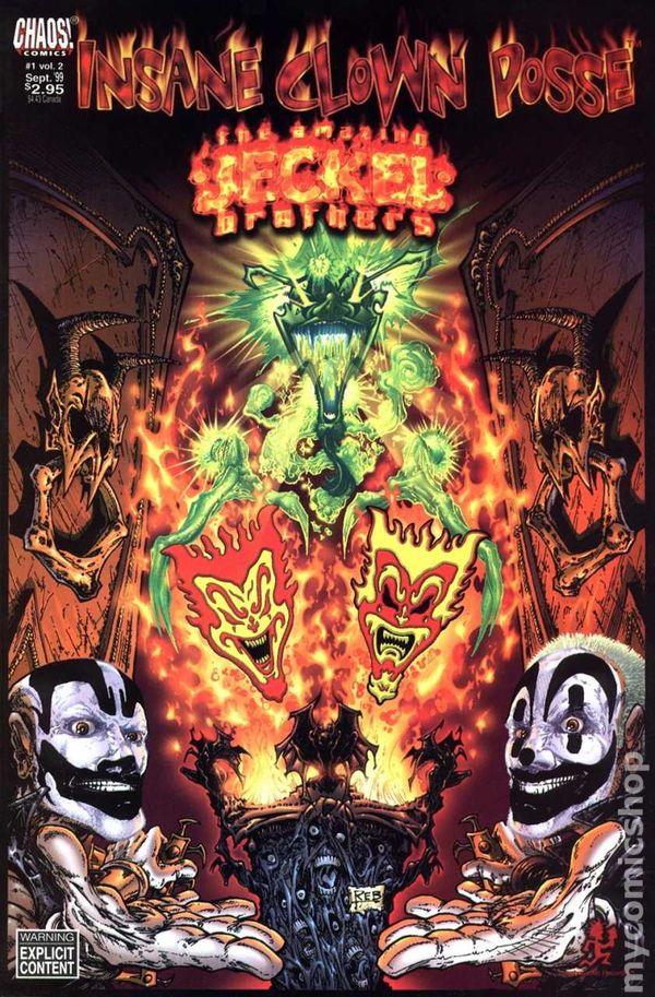 insane clown posse the amazing jeckel brothers 1999 chaos comic books