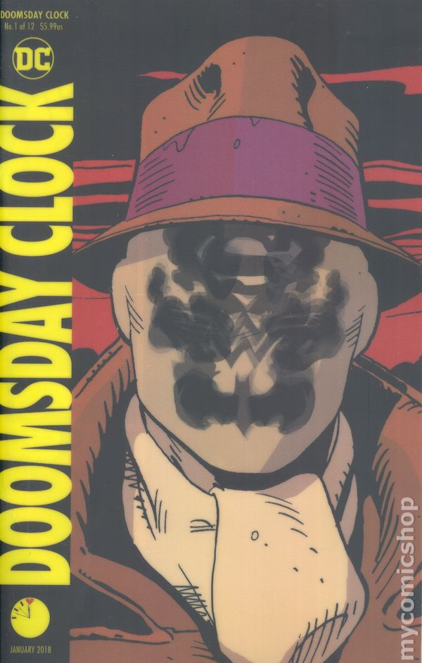 Image result for doomsday clock lenticular