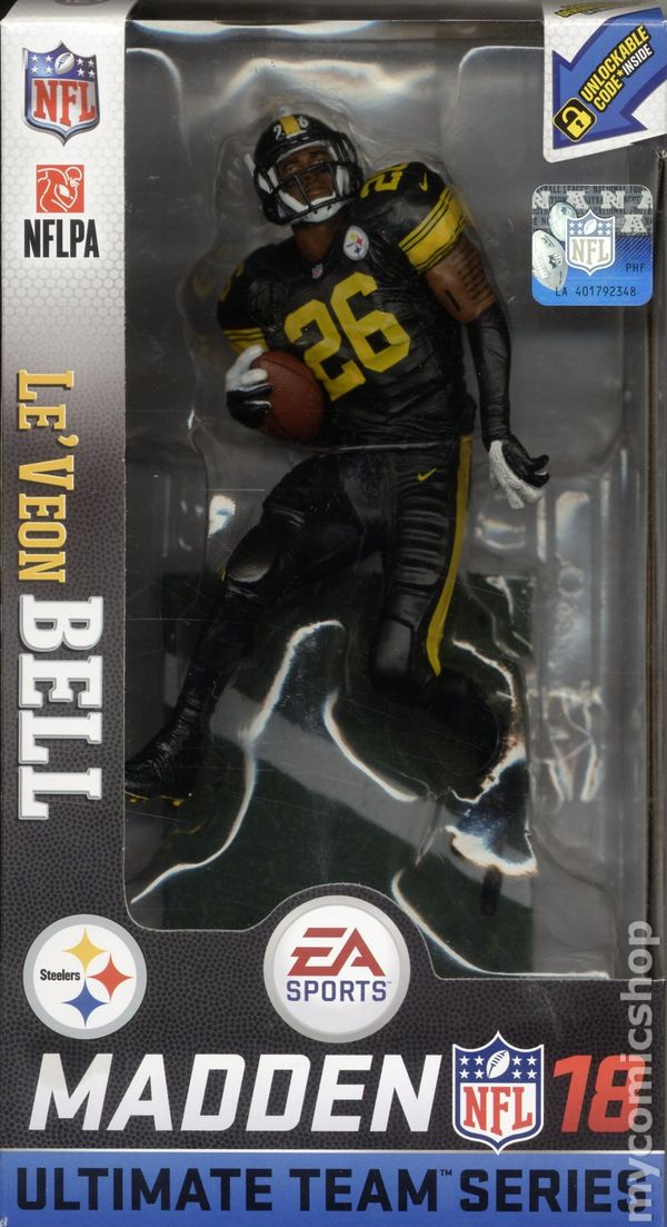NFL Madden Figure (2017 McFarlane Toys) Ultimate Team Series 2 ITEM-01B 05e63fe8a