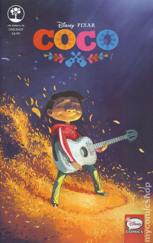 Coco 2017 Joe Books Comic Books