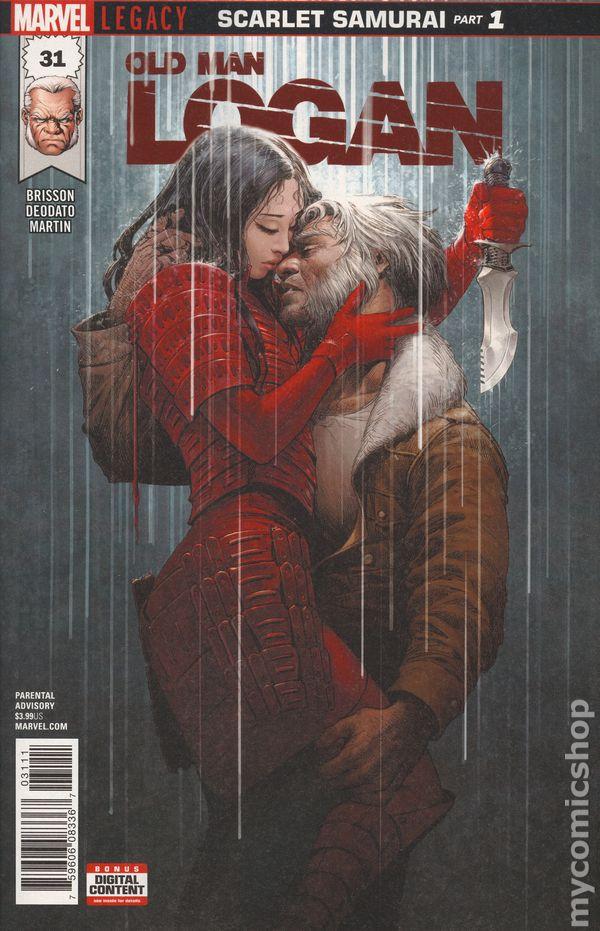 Old Man Logan Legacy # 37 Regular Cover NM Marvel Wolverine