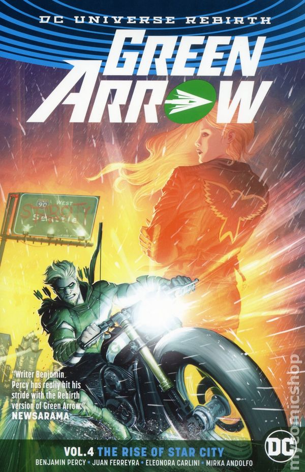 FIRST PRINTING GREEN ARROW REBIRTH #1 SOLD OUT! HOT!!