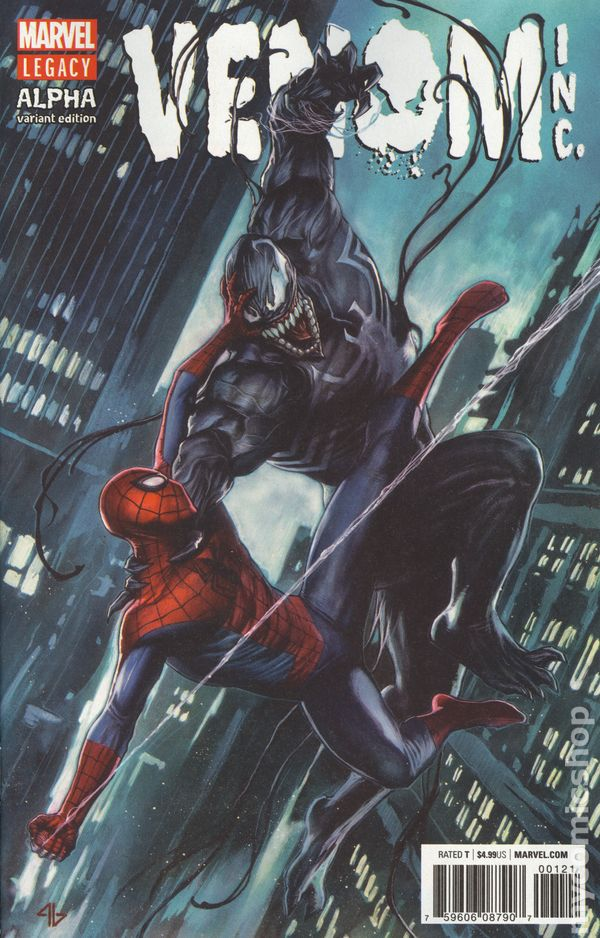 Amazing Spider-Man and Venom: Venom Inc Alpha (2018) comic books