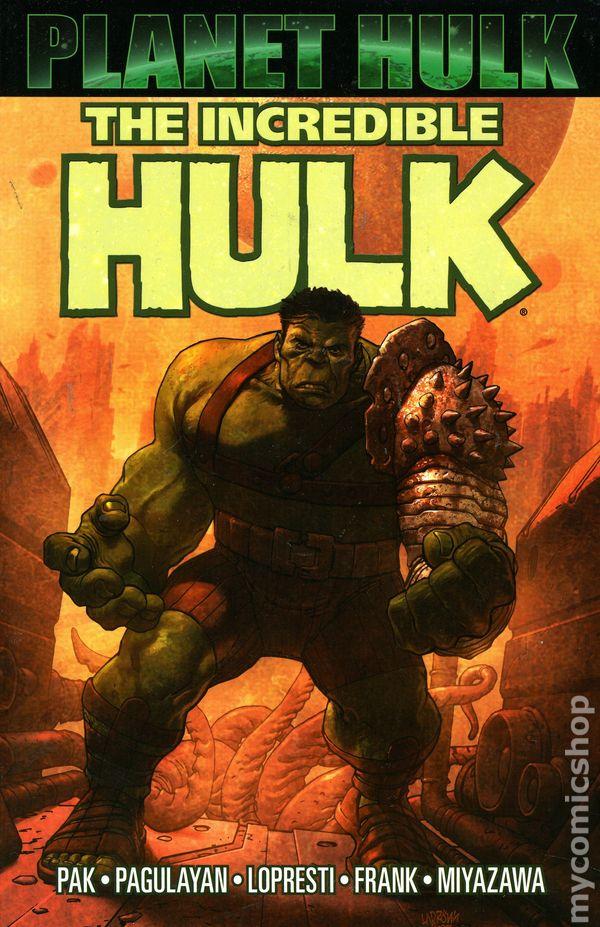 Comic books in 'Planet Hulk'