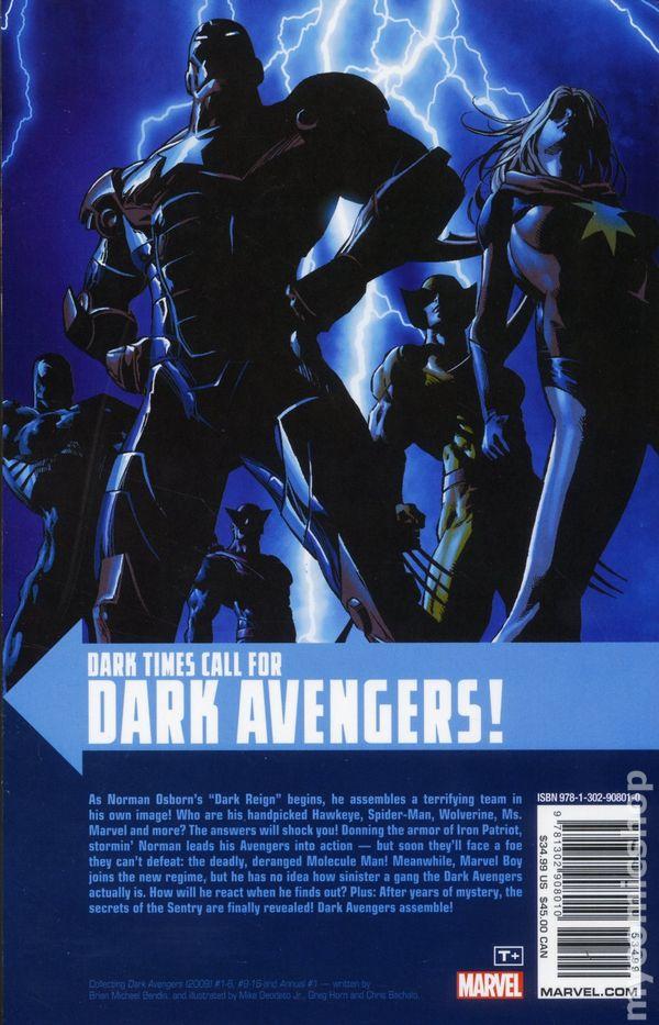 DARK AVENGERS #1Vol 1Marko Djurdjevic 1:20 VariantRARE2009