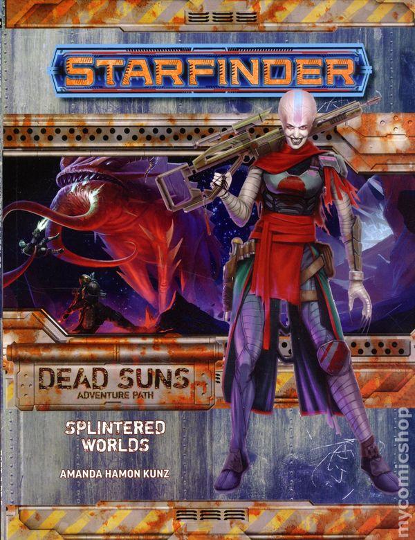 Comic books in 'Pathfinder/Starfinder RPG'