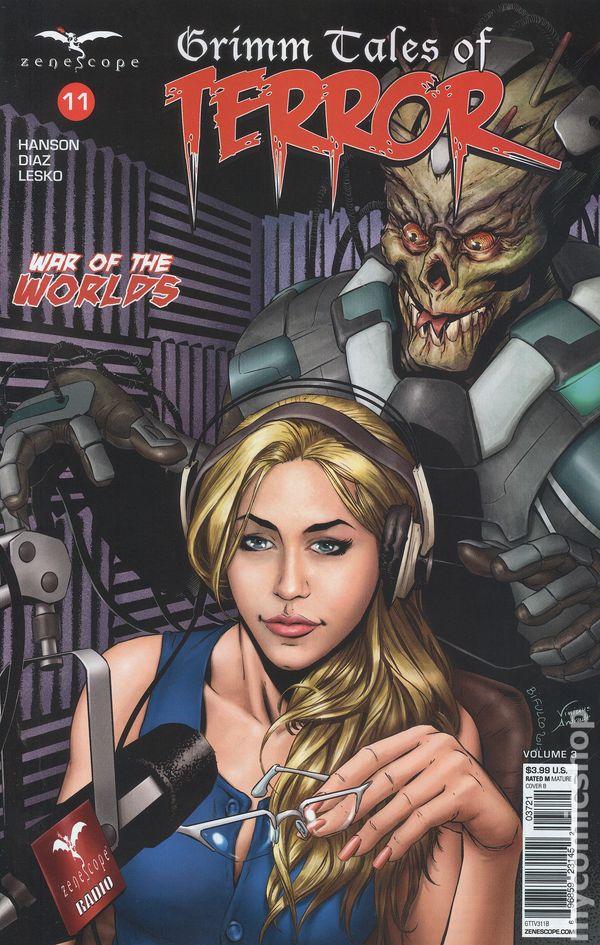 Grimm Tales of Terror Vol 3 V3 #13 ~ Zenescope ~ Ligeria 13A cover