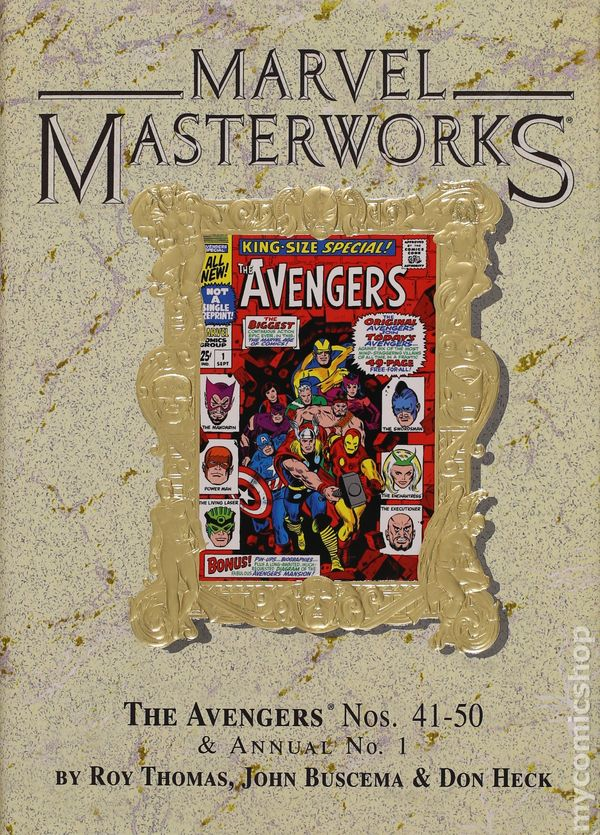 Marvel Masterworks Deluxe Library Edition Variant TPB #54-1ST NM 2013