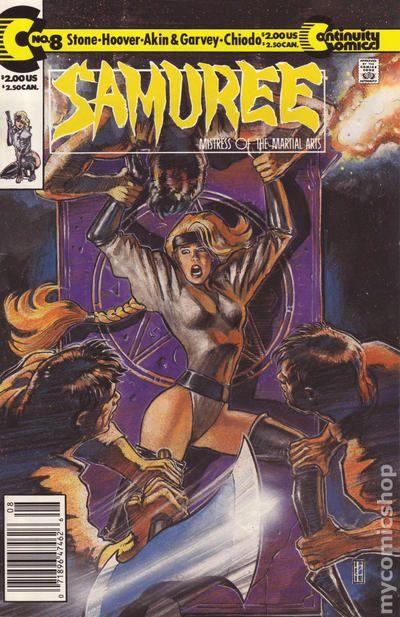 Copertina di Samuree prima serie n. 8