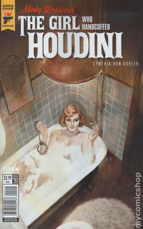 The GIRL WHO HANDCUFFED HOUDINI #4a Minky Woodcock 2017 TITAN Comics of 4