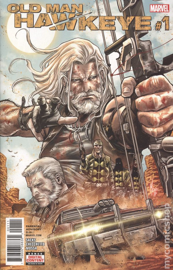 Old Man Hawkeye #9 Marvel VF//NM Comics Book