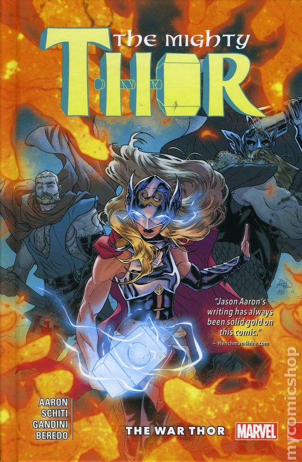 The Mighty Thor #4  Marvel 1ST PRINT COVER A Jane Foster Jason Aaron