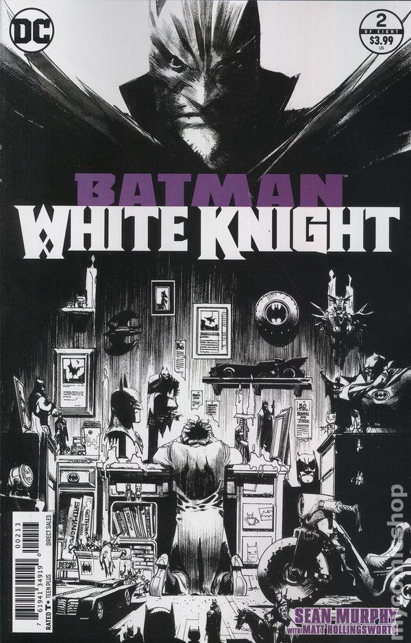 BATMAN WHITE KNIGHT TPB Collecting #1-8 DC Comics Black Label TP