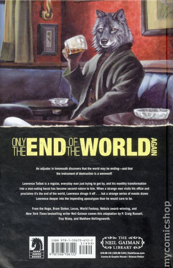 Only the End of the World Again HC (2018 Dark Horse) 1-1ST VF