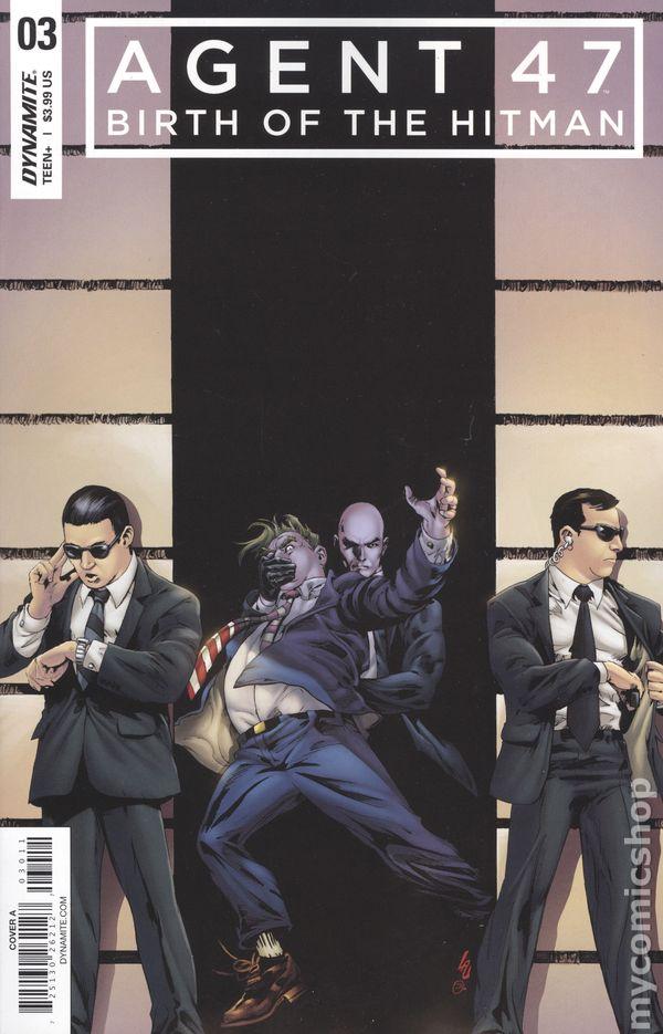 Agent 47 Birth Of The Hitman 2017 Comic Books 2018