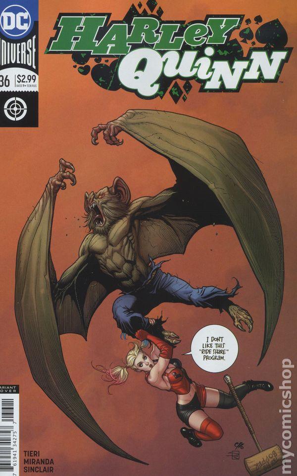 HARLEY QUINN #34b ~ VF//NM Book 2018 DC Universe Comics