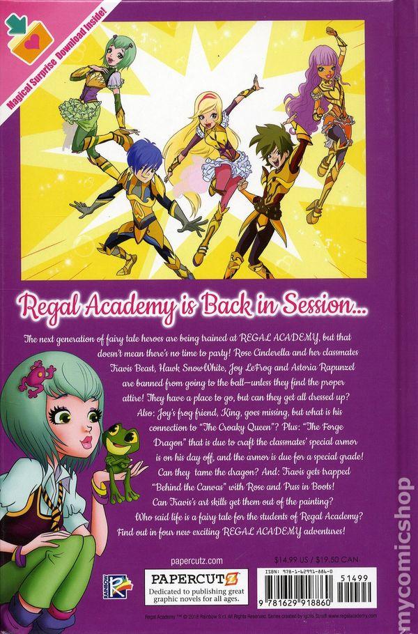 Bekannt Regal Academy HC (2018 Papercutz) comic books AA19