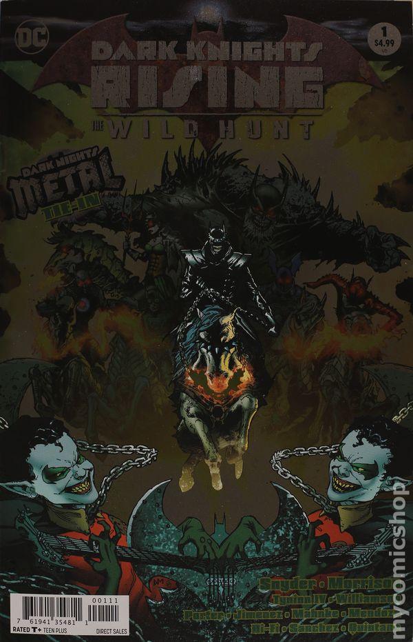Foil Cover!! Dark Knights Rising Wild Hunt #1!!