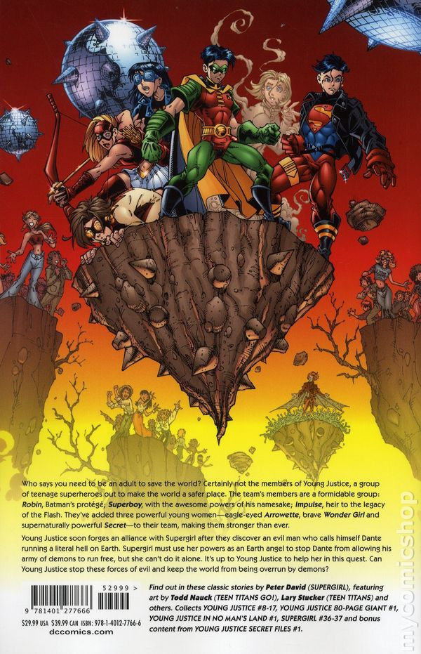 ... Young Justice TPB (2017 DC) Deluxe Edition 2-1ST