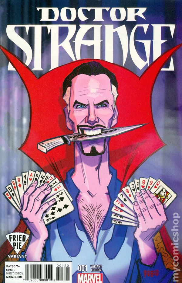 #11A 2016 Nowlan Variant NM Stock Image Doctor Strange 5th Series