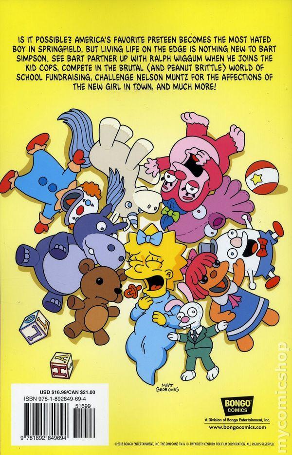 Bart Simpson comic books issue 1