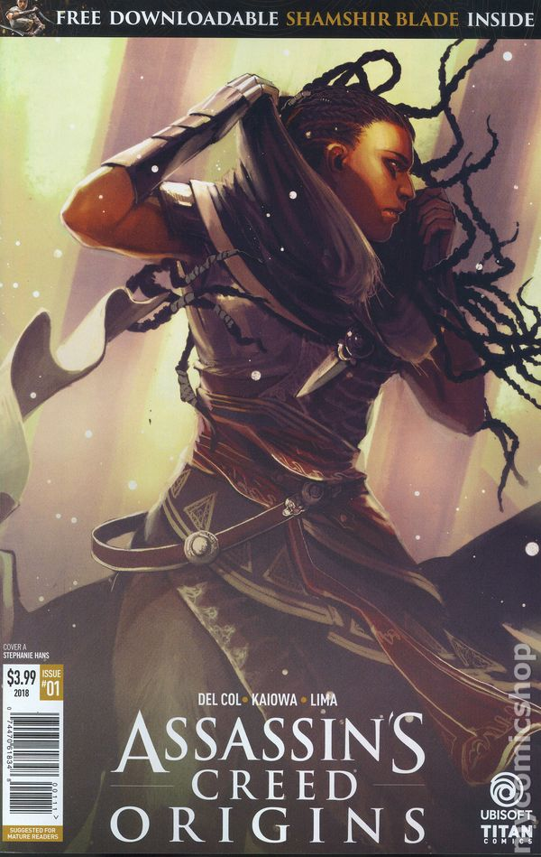 Assassins Creed Comic Books Issue 1