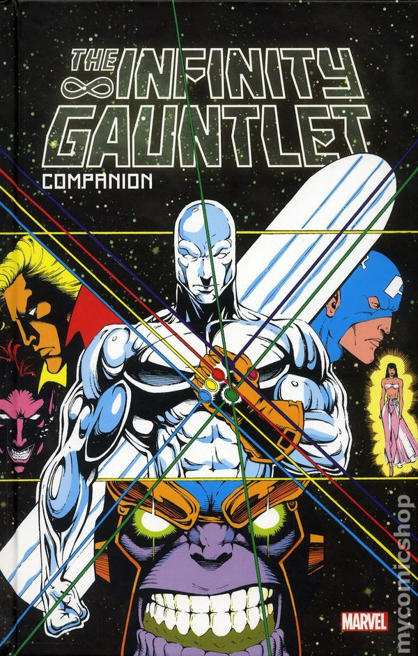 Infinity Gauntlet Comic Books Issue 1