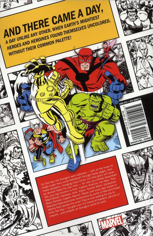 Comic books in \'Color Your Own (Marvel)\'