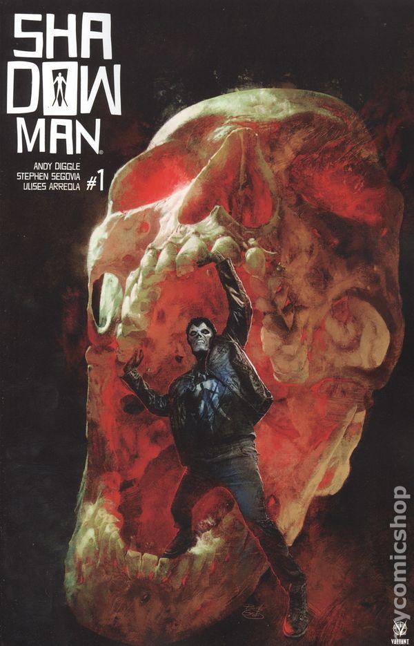 ⭐️ SHADOWMAN #1b VF//NM Comic Book 2018 VALIANT Comics