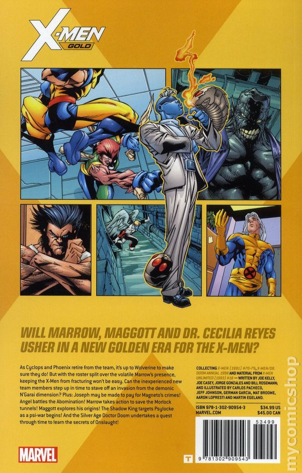 X-Men Gold TPB (2017- Marvel) comic books