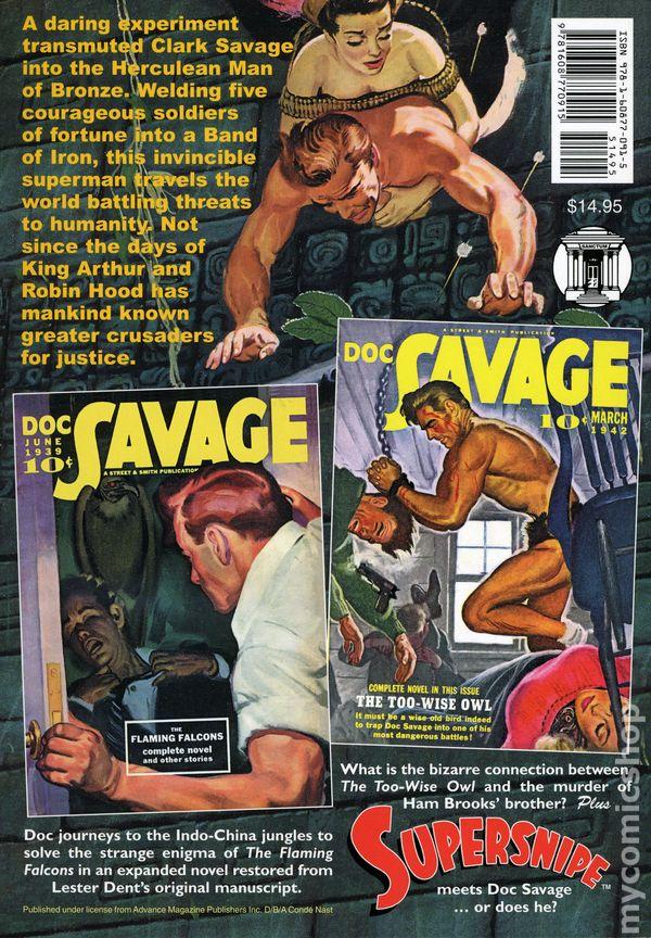 ee69d3ab ... Doc Savage SC (2006-2016 Sanctum Books) Double Novel 62A-1ST
