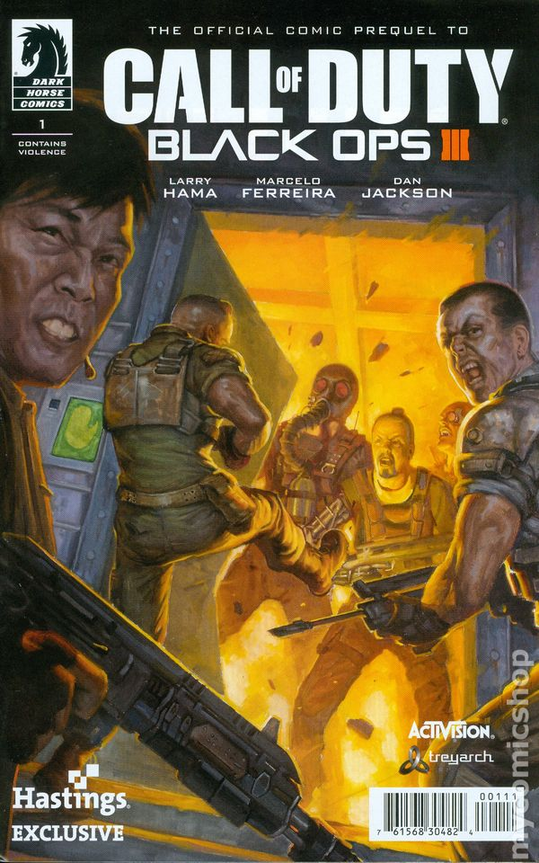 Call Of Duty Black Ops Iii 2015 Comic Books