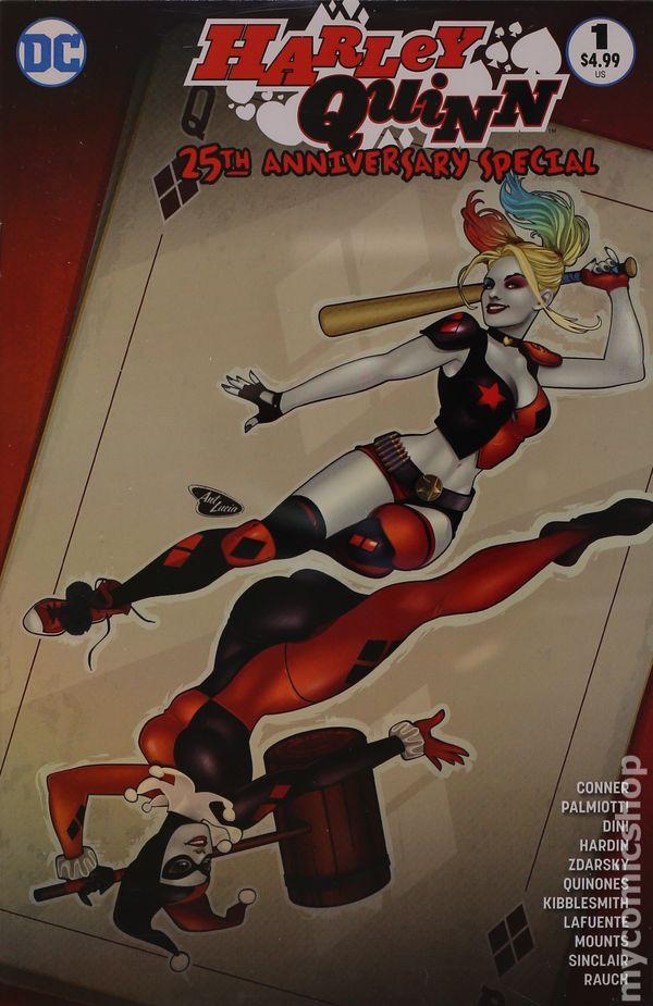 Comics CB14697 Harley Quinn 25th Anniversary Special #1 Variant  D.C