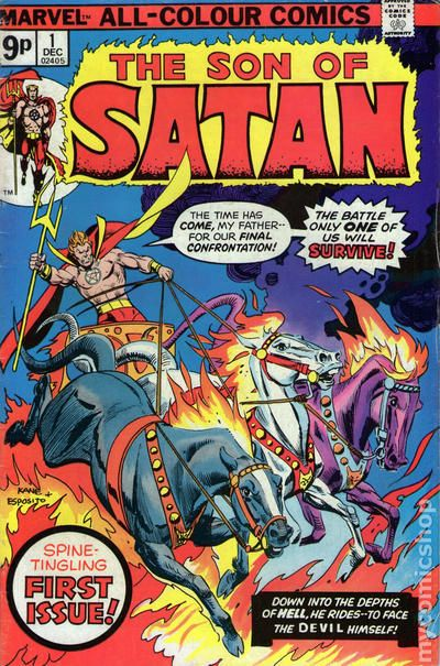 Image result for marvel son of satan