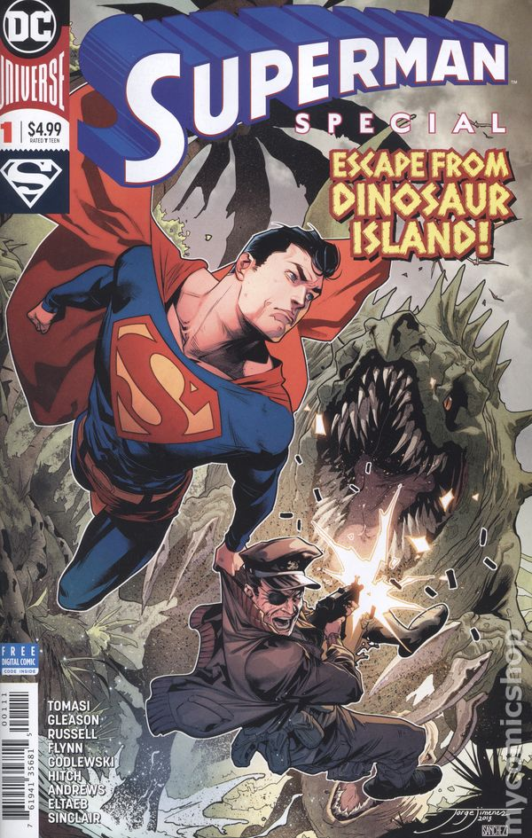 Comic Books In Dinosaur
