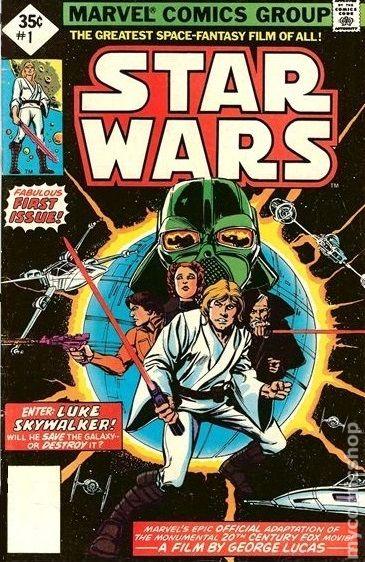 Star Wars #38 VF 1980 Stock Image