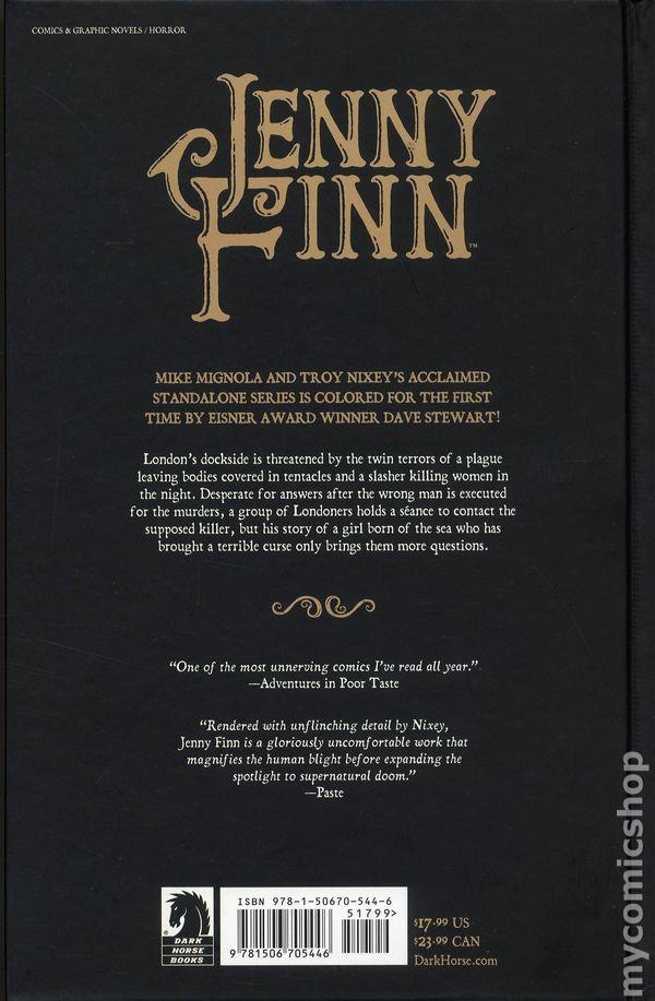 JENNY FINN #4 DARK HORSE MIGNOLA 1ST PRINT COVER A