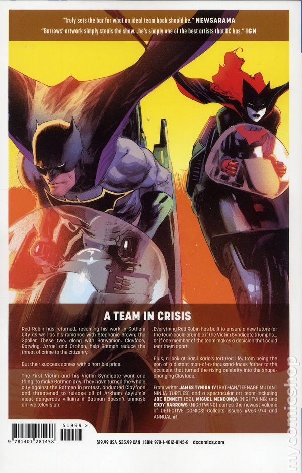 DC Universe Rebirth Batman #34VF+//NMDC Comics