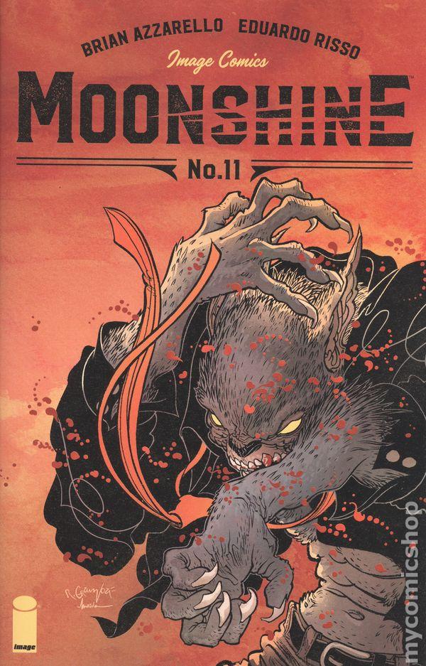 IMAGE COMICS//2016 EDRUARO RISSO ART /& COVER MOONSHINE #3