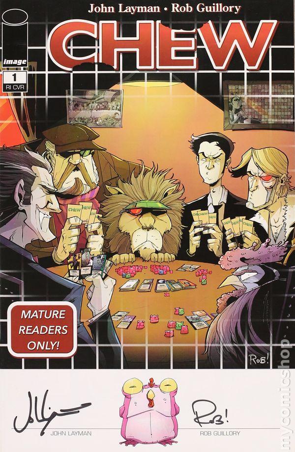 Other Modern Age Comics Cheap Sale Chew #43 Image Comics Vf