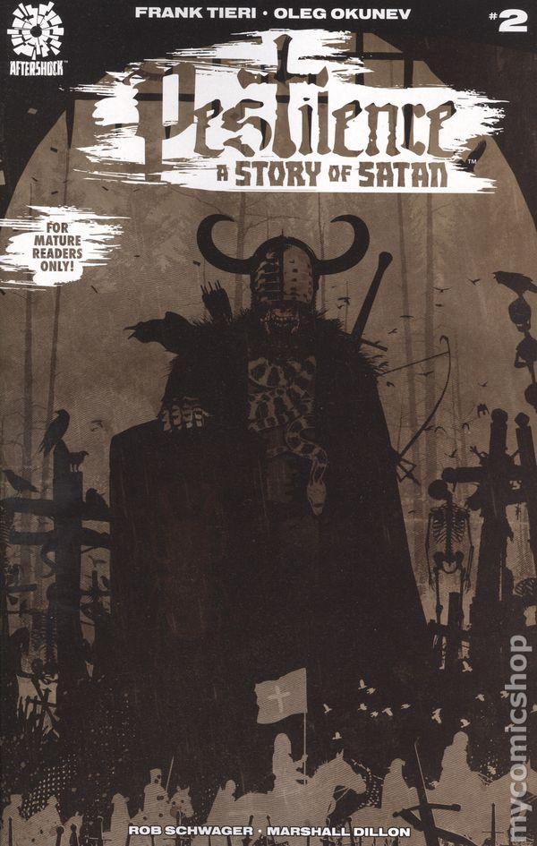 A Story of SATAN #1 PESTILENCE 2018 AFTERSHOCK Comics ~ VF//NM Book