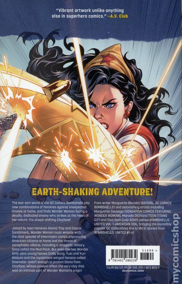 Bombshells United #3 DC Comics 1st Print EXCELSIOR BIN